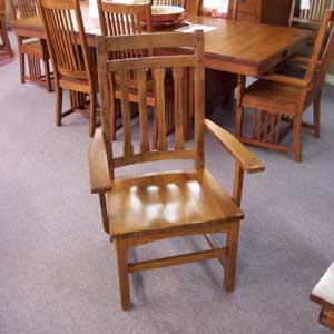 Cal Oak Highland Park Arm Chair