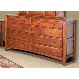 Cal Oak Chapel Hill Dresser