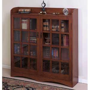 Cal Oak Fremont Hills Double Bookcase