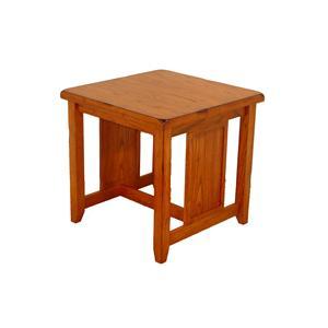 Cal Oak Homespun End Table