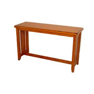 Cal Oak Homespun Sofa Table