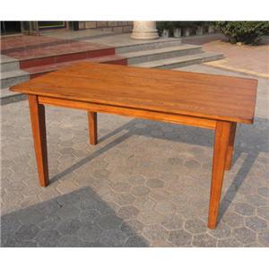 Cal Oak Homespun Dining Table