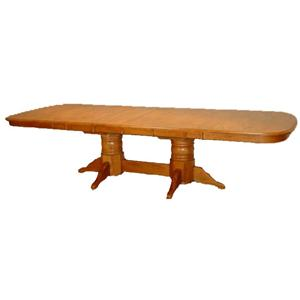 Cal Oak Hudson Valley Dining Table