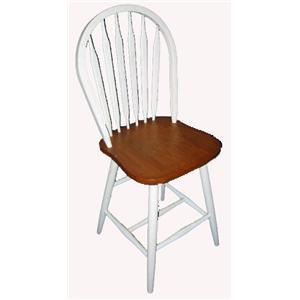 Cal Oak Jamestown Classic Arrowback Side Chair