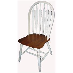 Cal Oak Jamestown Master Arrowback Side Chair
