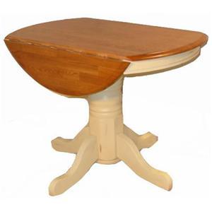 Cal Oak Jamestown Drop Leaf Table