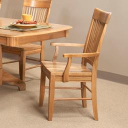 Cal Oak Matrix  Spindle Back Arm Chair