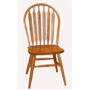 Cal Oak Oakridge Classic Arrowback Side Chair