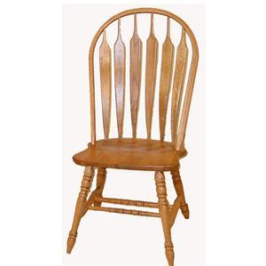 Cal Oak Oakridge Premier Arrow Back Side Chair