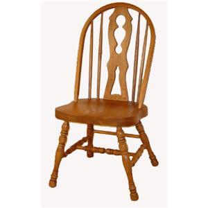 Cal Oak Oakridge Keyhole Side Chair