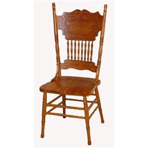 Cal Oak Oakridge Double Press Back Side Chair