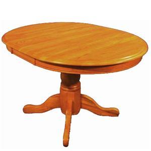 Cal Oak Oakridge Oval Dining Table