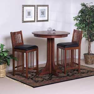 Cal Oak Fremont Hills Pub Table Set