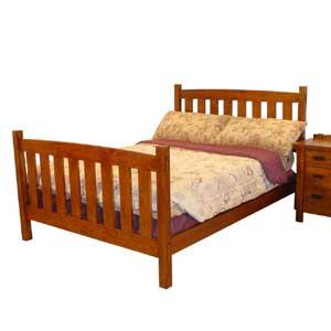 Cal Oak Highland Park Slat Bed
