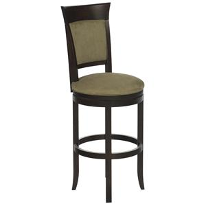 "Canadel Bar Stools Customizable 32"" Upholstered Swivel Stool"