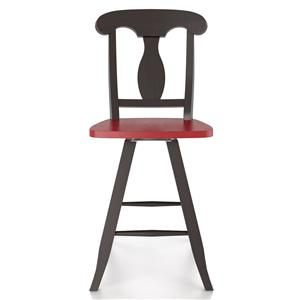 "Customizable 24"" Swivel Stool"