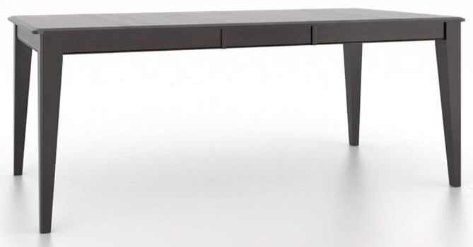 Custom Dining Furniture Rectangular Dining Room Table by Canadel at Williams & Kay