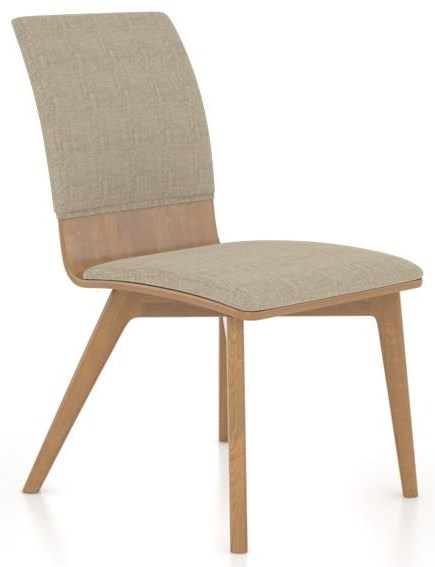 Custom Dining Furniture Side Chair by Canadel at Williams & Kay