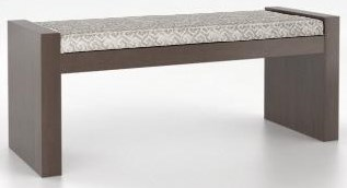 Canadel Core Upholstered Bench by Canadel at Bennett's Furniture and Mattresses