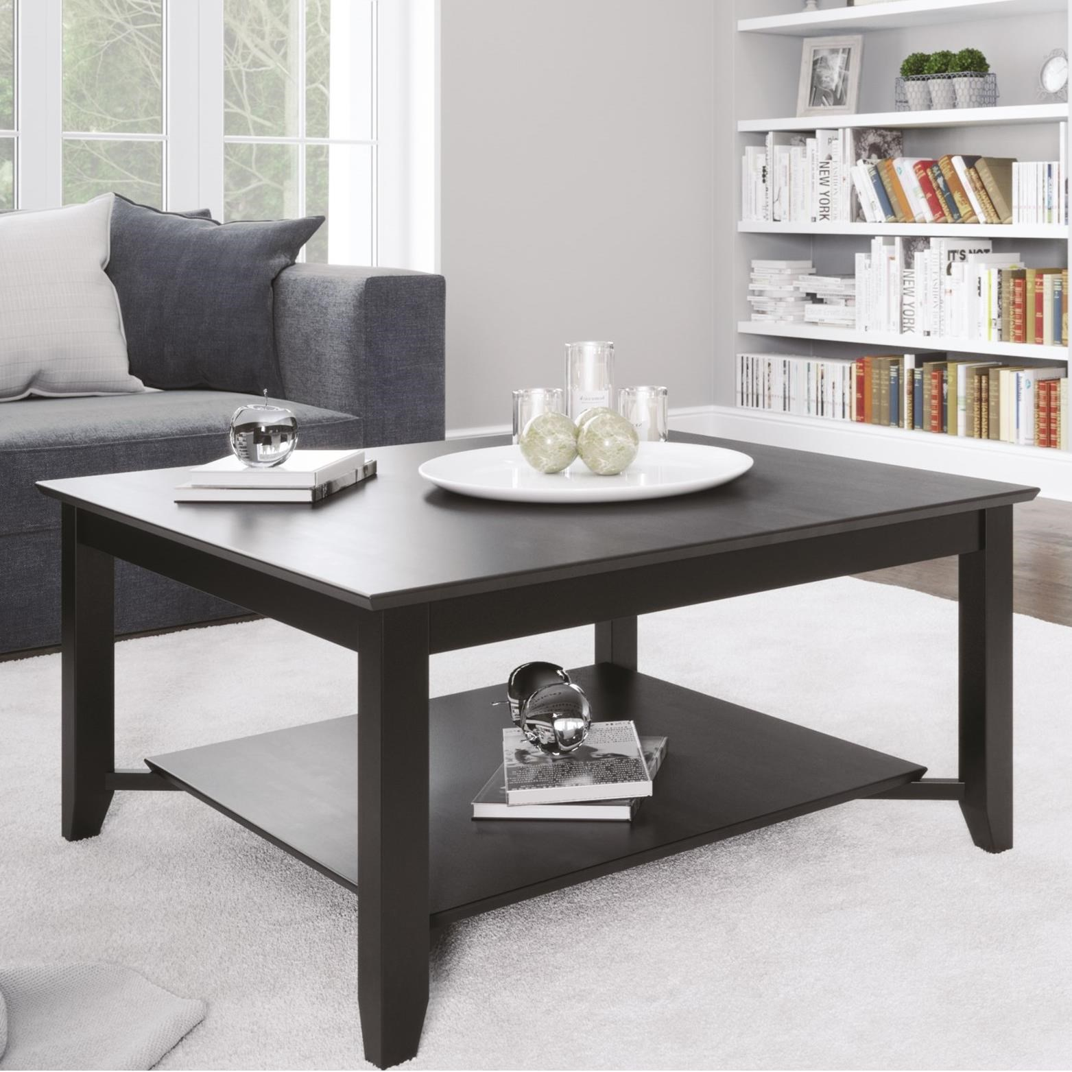 Canadel Living Customizable Rectangular Coffee Table by Canadel at Williams & Kay