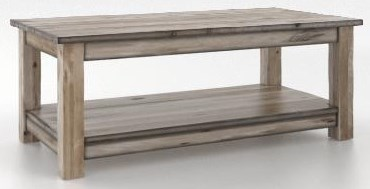 Champlain Coffee Table by Canadel at Bennett's Furniture and Mattresses