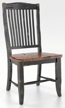 Champlain - Custom Dining Side Chair by Canadel at Johnny Janosik