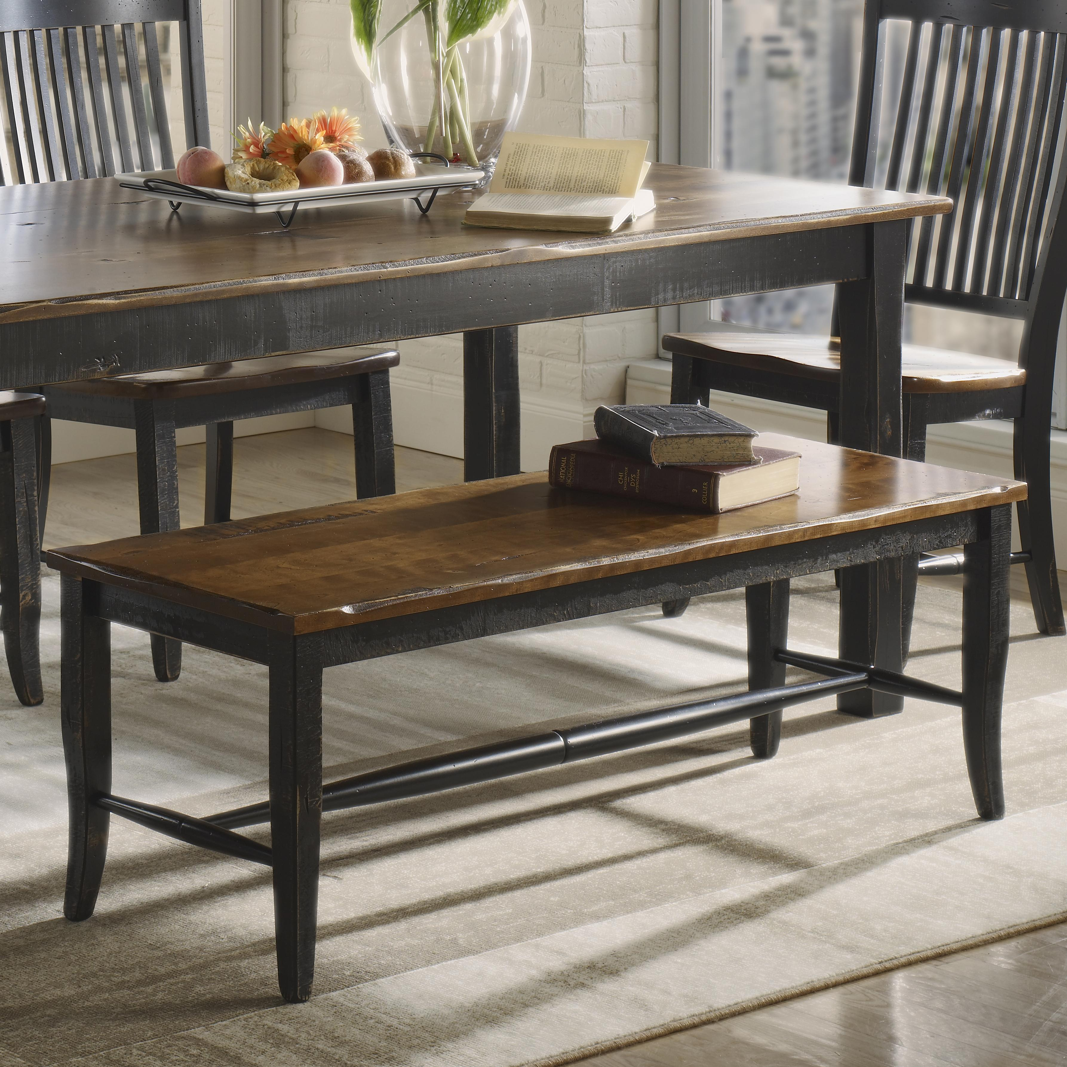 Champlain - Custom Dining <b>Customizable</b> Bench by Canadel at Dinette Depot