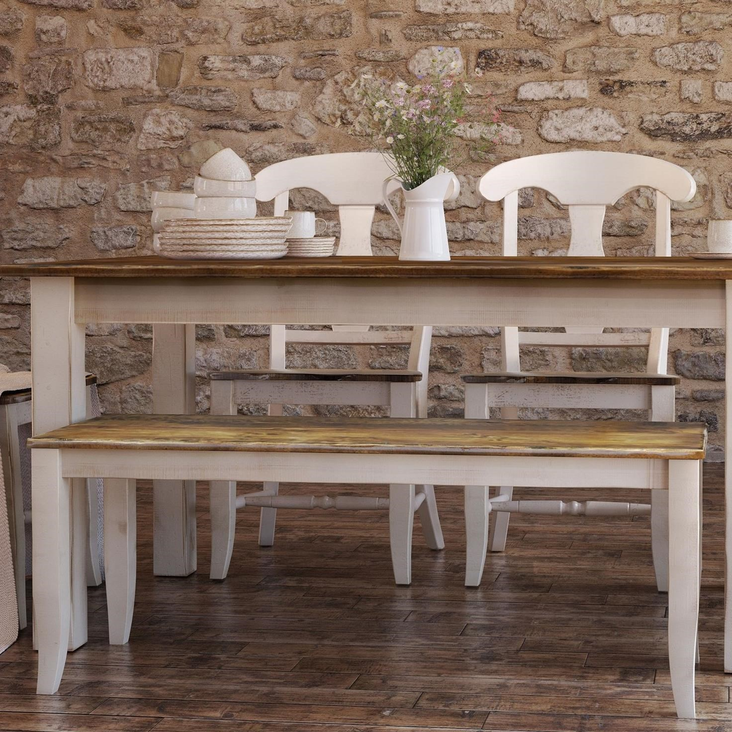 Champlain - Custom Dining Customizable Bench by Canadel at Dinette Depot