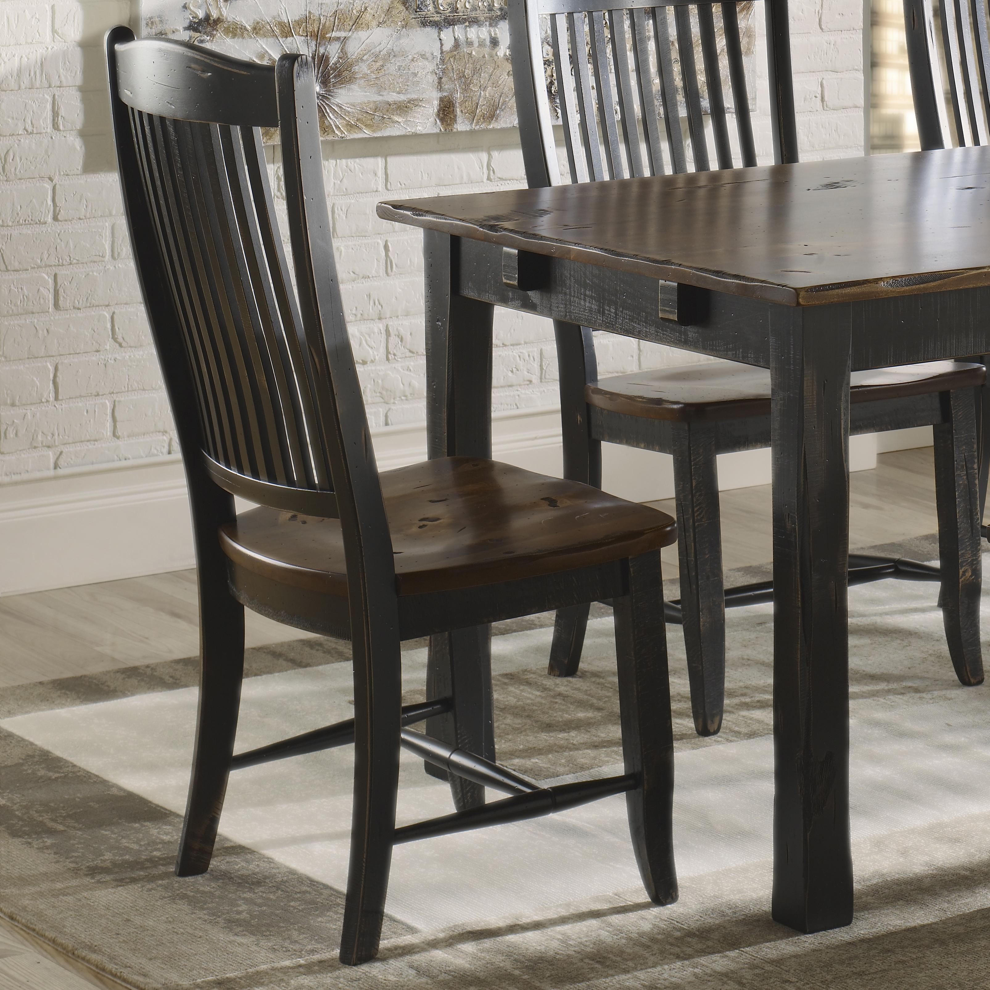 Champlain - Custom Dining <b>Customizable</b> Side Chair by Canadel at Bennett's Furniture and Mattresses