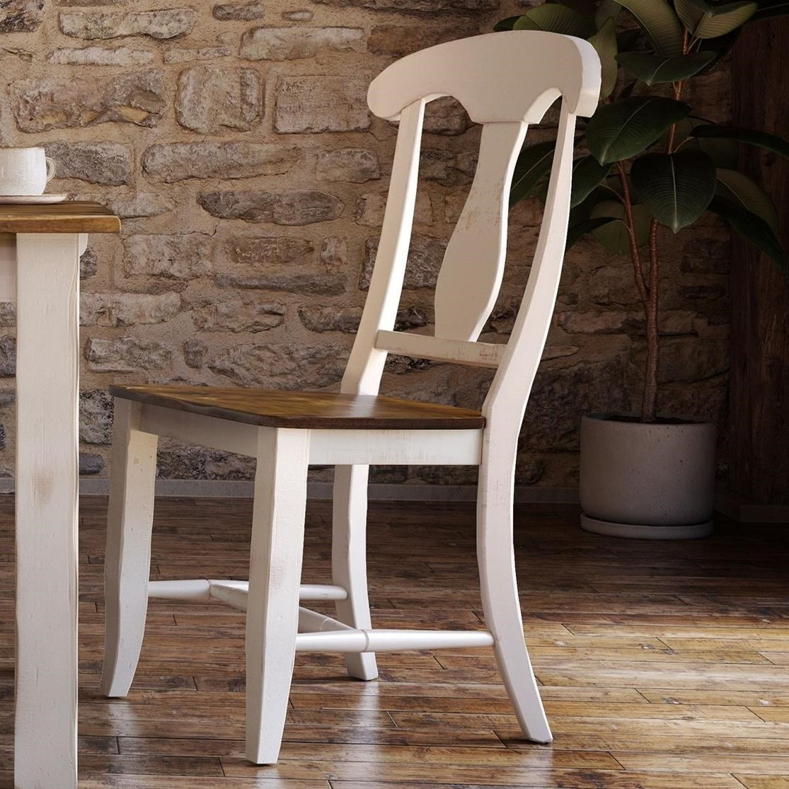 Champlain - Custom Dining Customizable Dining Chair by Canadel at Jordan's Home Furnishings