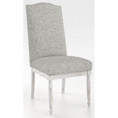 Champlain - Custom Dining Customizable Side Chair by Canadel at Steger's Furniture