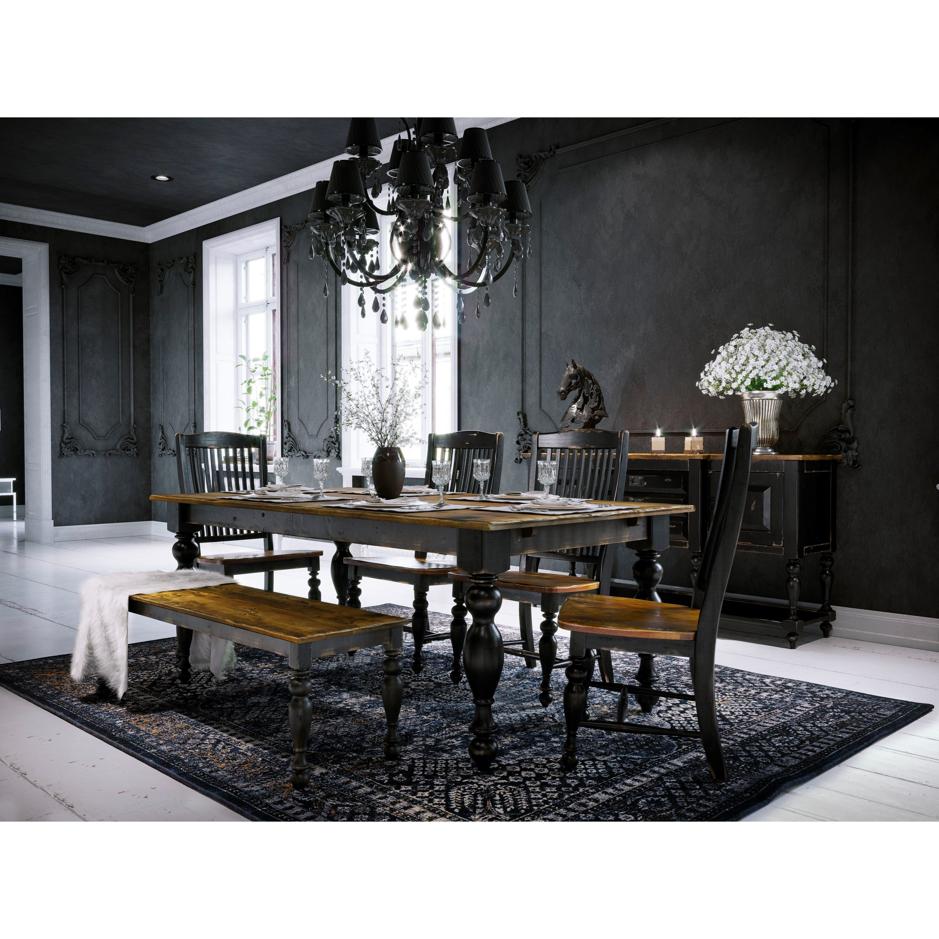 Champlain - Custom Dining Dining Room Group by Canadel at Jordan's Home Furnishings