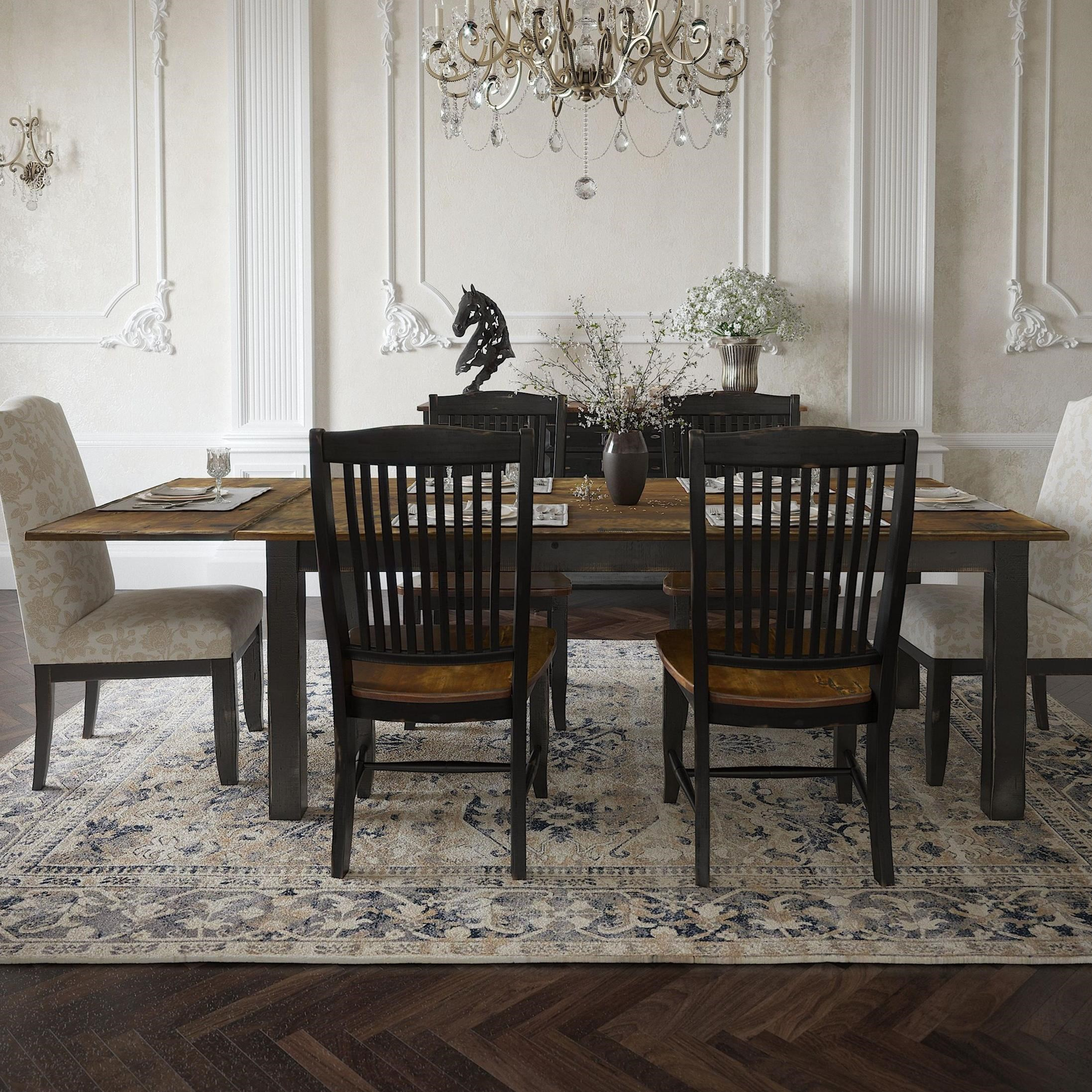 Champlain - Custom Dining Customizable Rectangular Table  by Canadel at Dinette Depot