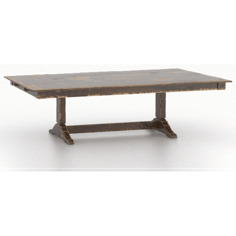 Champlain - Custom Dining Customizable Dining Table by Canadel at Becker Furniture