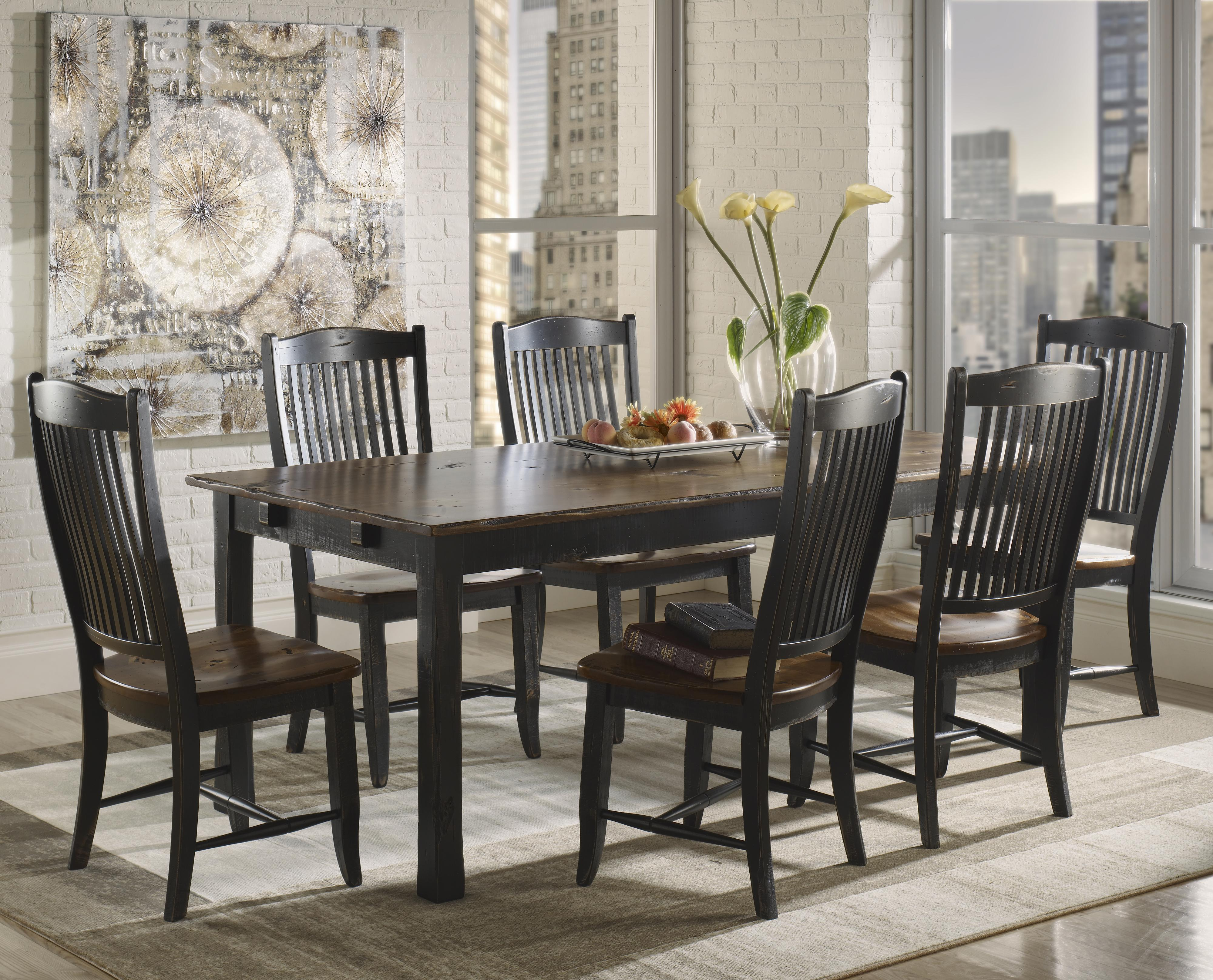 Champlain - Custom Dining <b>Customizable</b> Rectangular Table Set by Canadel at Jordan's Home Furnishings