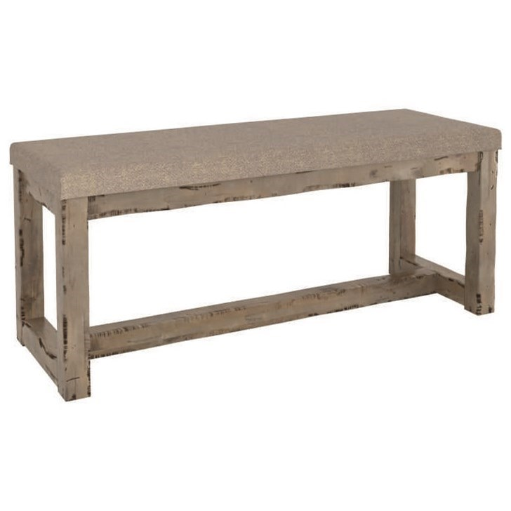Champlain - Custom Dining Customizable Upholstered Bench by Canadel at Jordan's Home Furnishings