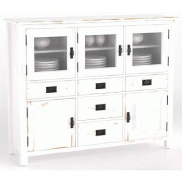 Champlain - Custom Dining Customizable Buffet by Canadel at Saugerties Furniture Mart