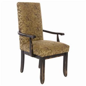 Canadel Champlain - Custom Dining <b>Customizable</b>  Dining Arm Chair