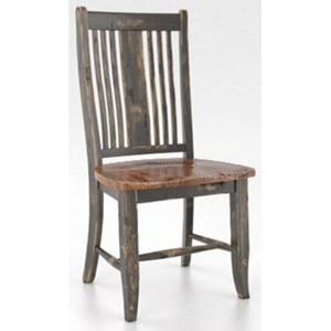 Customizable Rustic Dining Side Chair