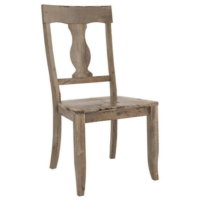 Champlain - Custom Dining Customizable Side Chair by Canadel at Williams & Kay