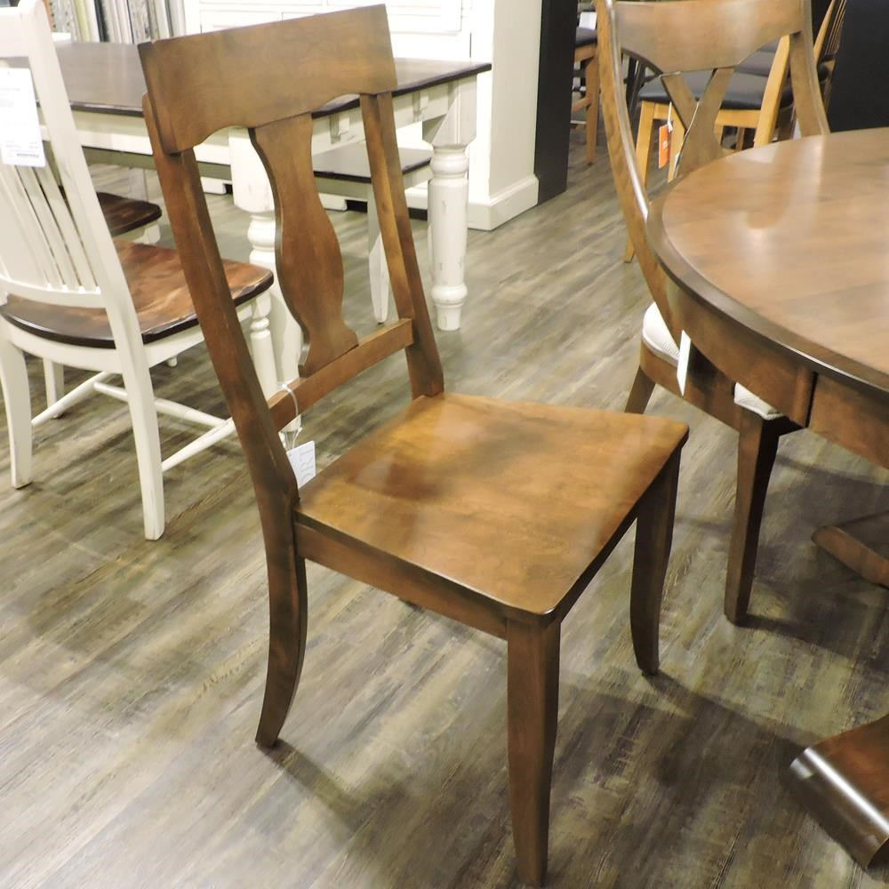 Champlain - Custom Dining Customizable Upholstered Side Chair by Canadel at Belfort Furniture