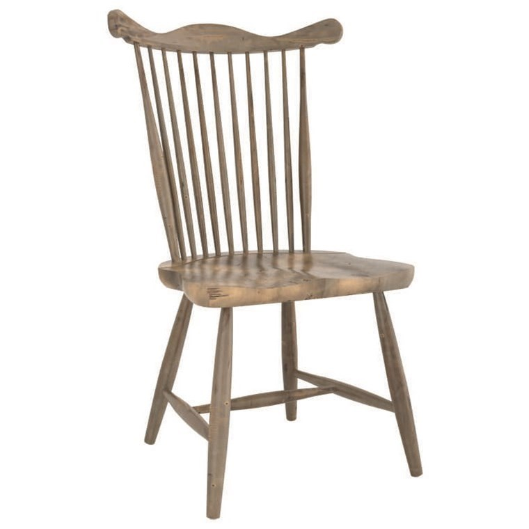 Champlain - Custom Dining Customizable Wood Chair by Canadel at Saugerties Furniture Mart