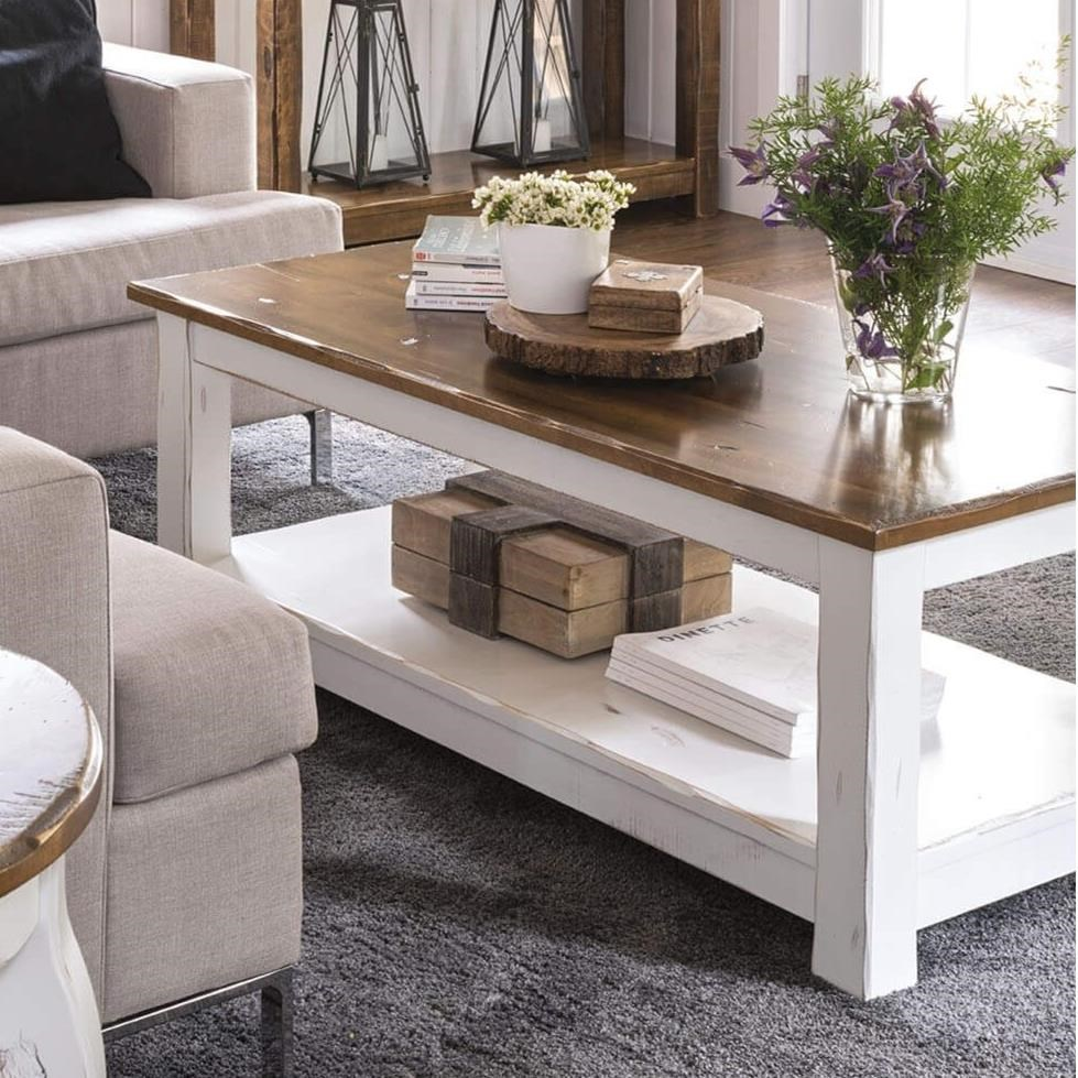 Champlain - Living Customizable Coffee Table by Canadel at Bennett's Furniture and Mattresses