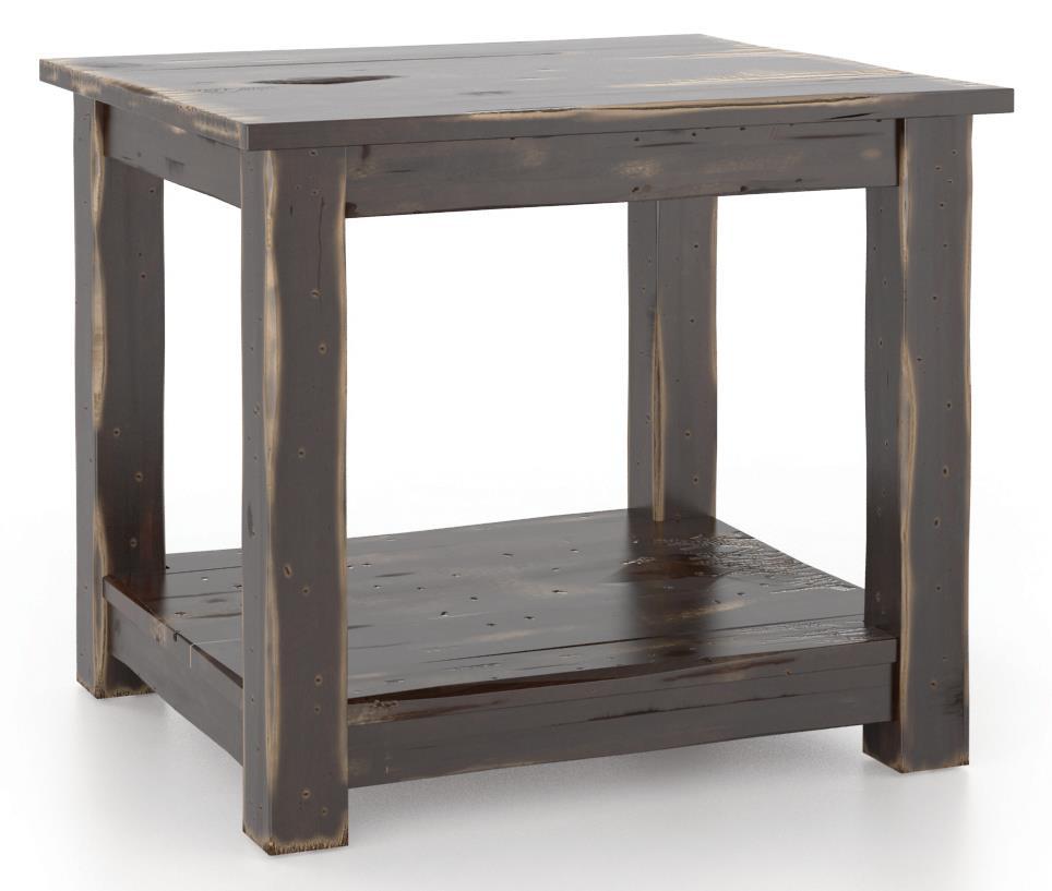 Champlain - Living <b>Customizable</b> End Table by Canadel at Jordan's Home Furnishings