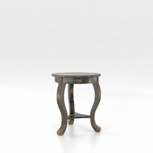 Customizable Round End Table