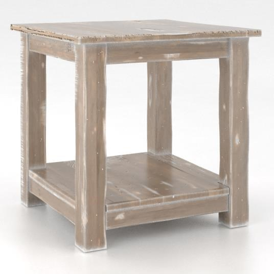 Champlain - Living Customizable Square End Table by Canadel at Jordan's Home Furnishings
