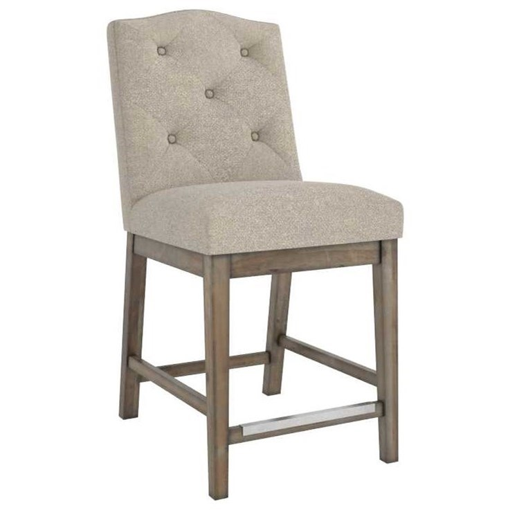 Champlain - Custom Dining Customizable Upholstered Counter Stool by Canadel at Godby Home Furnishings