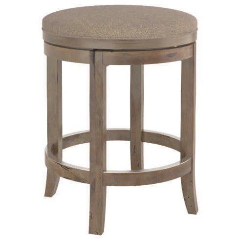 """Champlain - Custom Dining Customizable 26"""" Swivel Stool by Canadel at Steger's Furniture"""