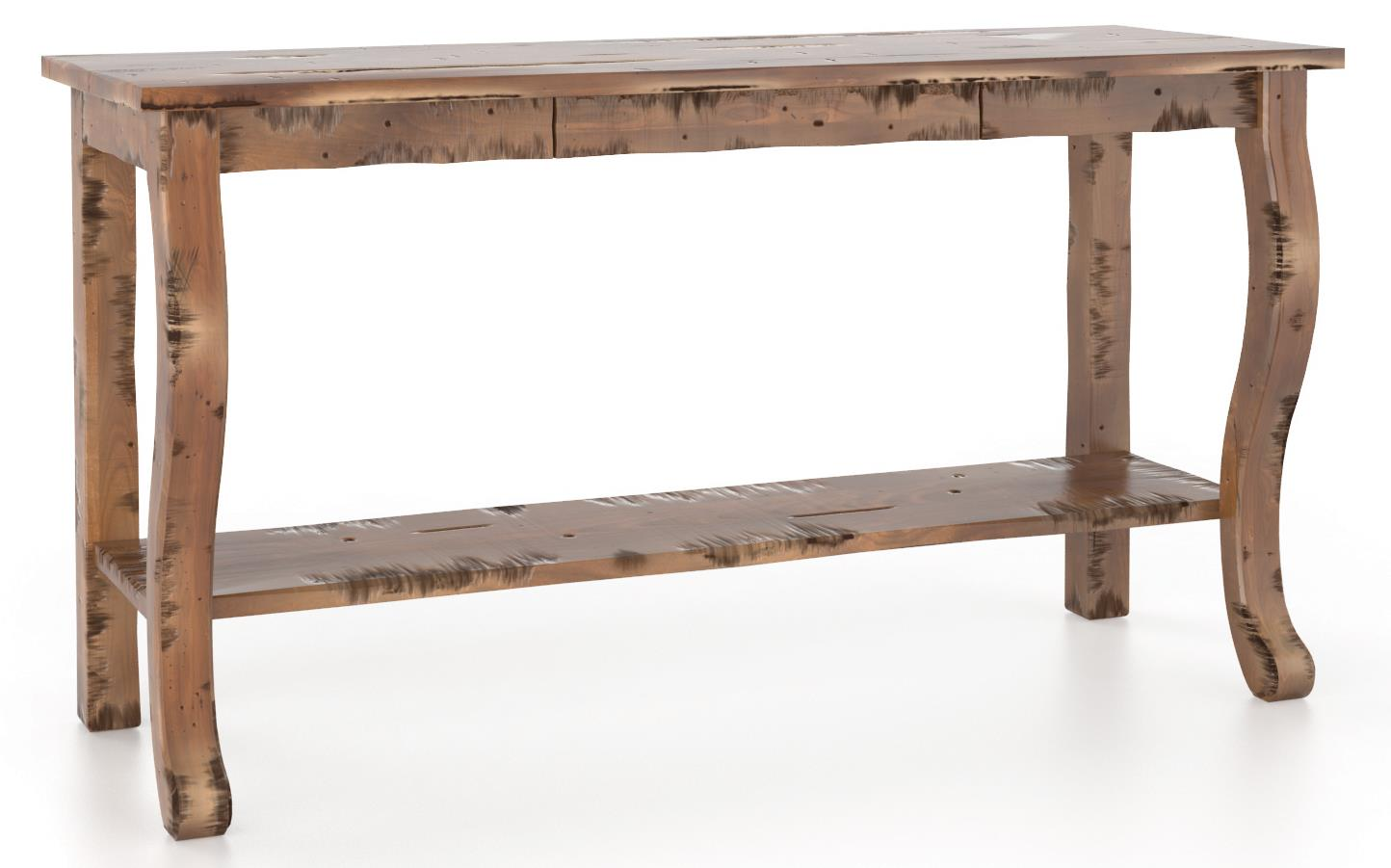 Champlain - Living <b>Customizable</b> Sofa Table by Canadel at Jordan's Home Furnishings