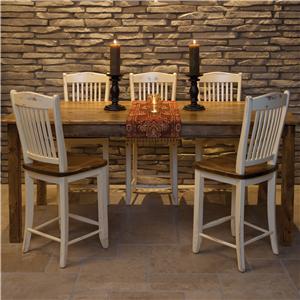 Canadel Champlain - Custom Dining <b>Customizable</b> Gathering Height Table